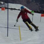 ウェッヂ型のスキーは素晴らしい!