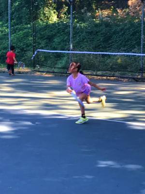 テニスも上手に打てました◎